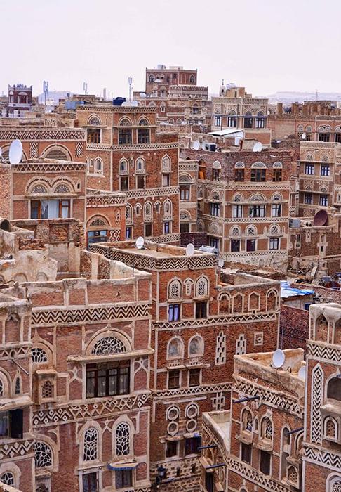 Старая Сана, Йемен. / Фото: ststworld.com