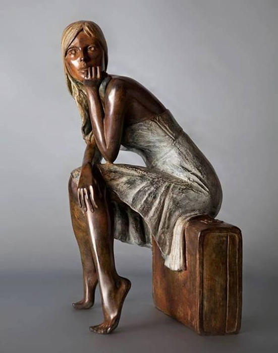 Скульптура Алана Чойснета. / Фото: pinterest.fr