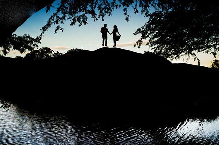 Пара в полёте. / Фото: Веллингтон Фугисс (Бразилия) / fotografos-de-boda.net