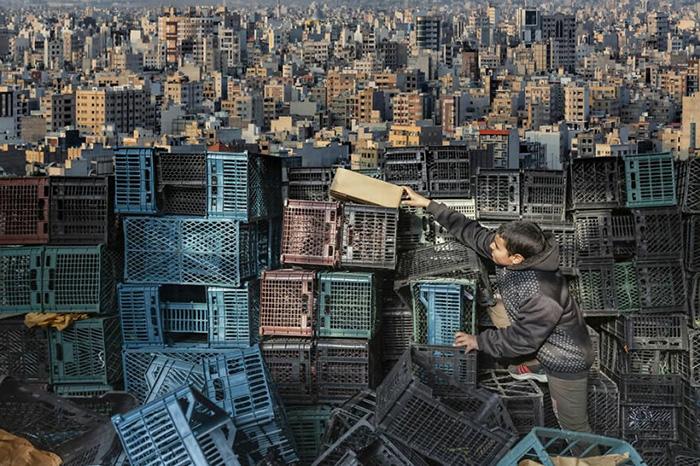 Его собственный мир. / Фото: Амир Арабшахи/urbanphotoawards.com