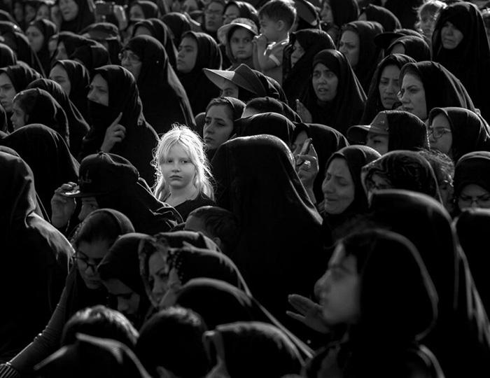 Блондинка. / Фото: Ахмад Мохаммад Таги Ширази/urbanphotoawards.com