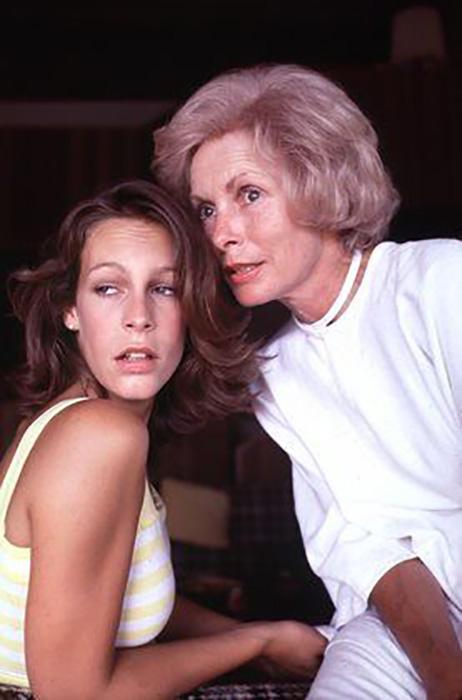 Мать и дочь в 1978 году. / Фото: pinterest.com