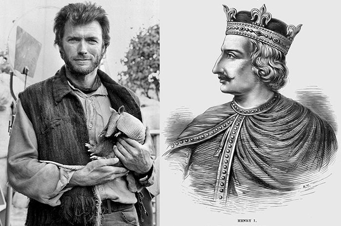 Клинт Иствуд и Генрих I Английский.