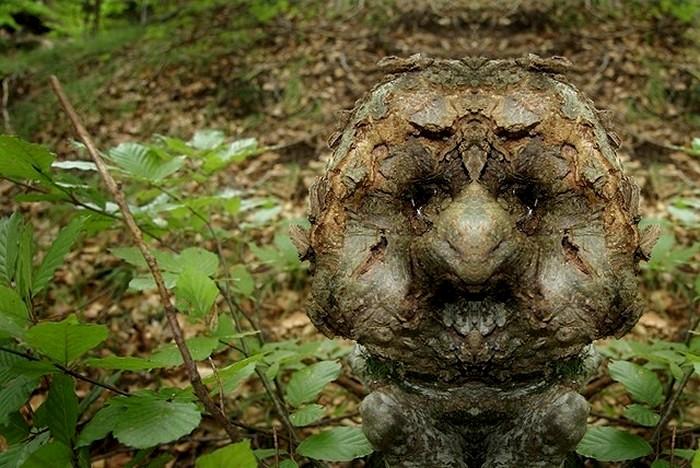 Сказочные лесные существа в арт-проекте Elido Turco