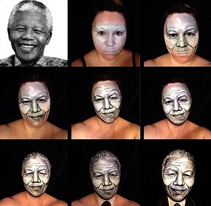 Превращение в Нельсона Манделу