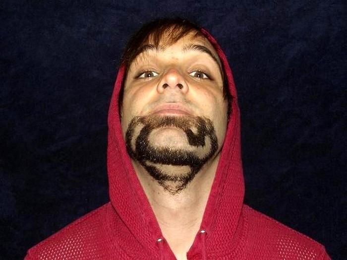 Борода супермена