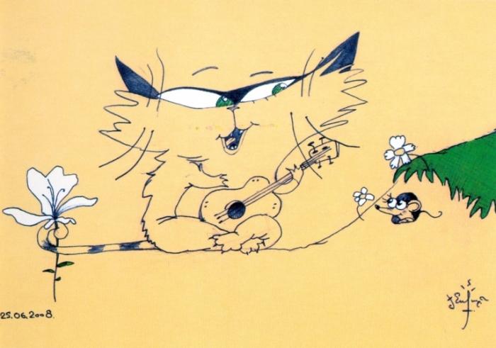 Сказочный кот - Ухажер.