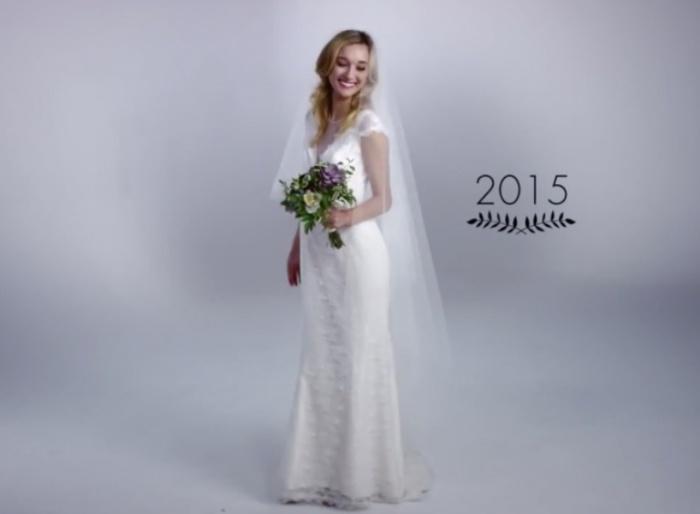 Простота и элегантность. Как изменилась свадебная мода за последние 100 лет.