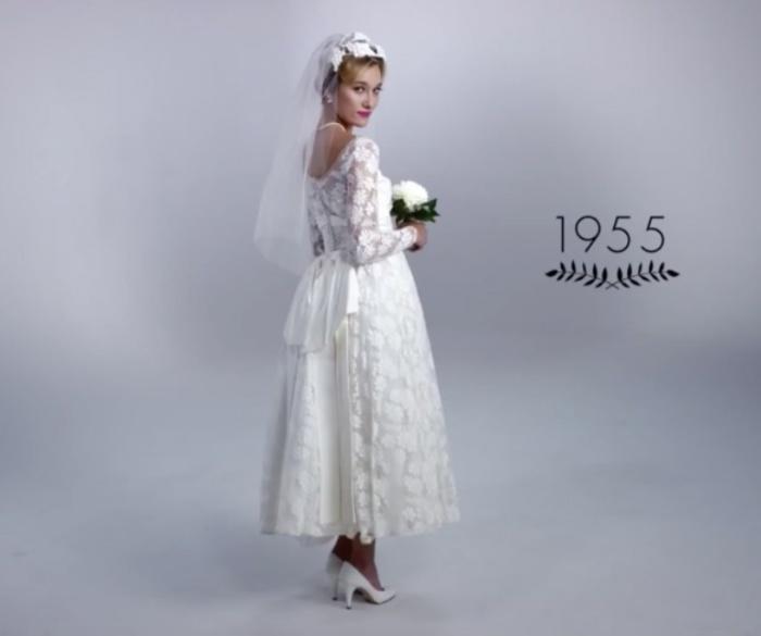 New look. Как изменилась свадебная мода за последние 100 лет.