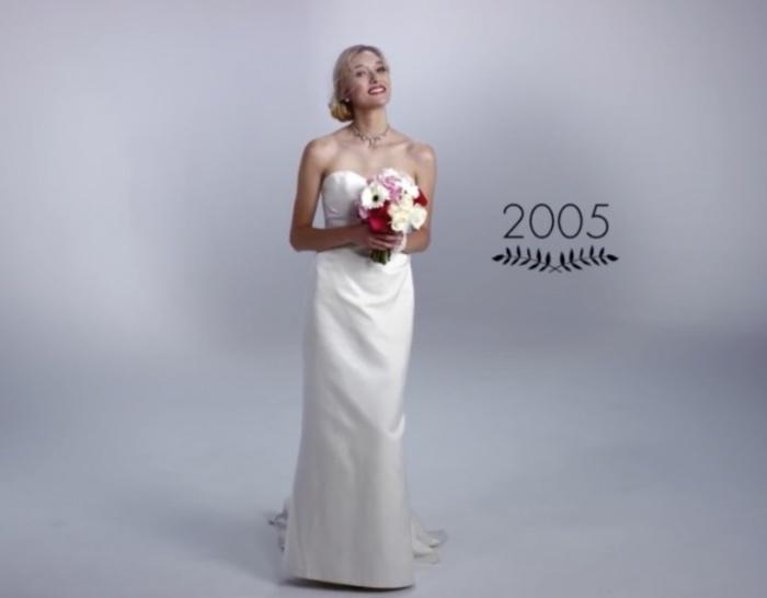 Минималистичные нулевые. Как изменилась свадебная мода за последние 100 лет.