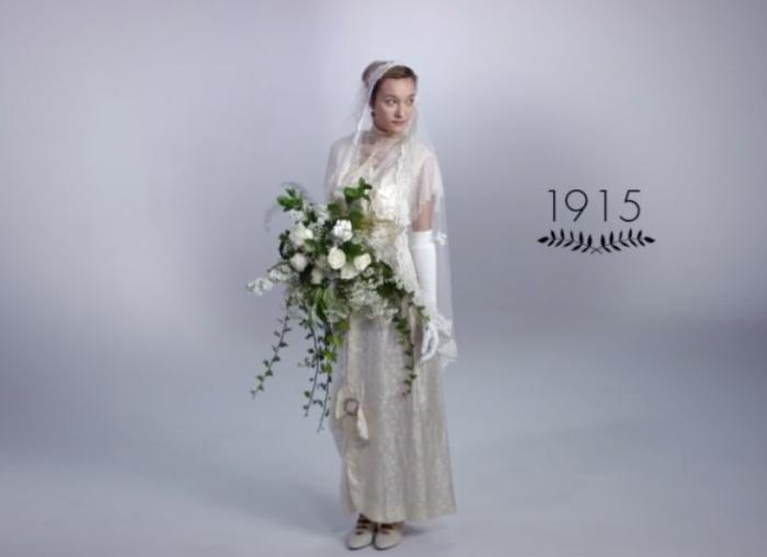 Конец прекрасной эпохи модерна. Как изменилась свадебная мода за последние 100 лет.