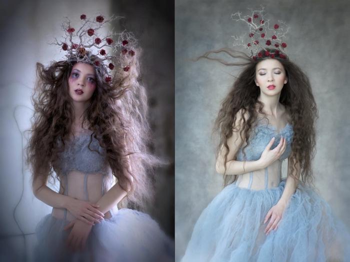 Образ томной куклы от  Agnieszka Jopkiewicz.