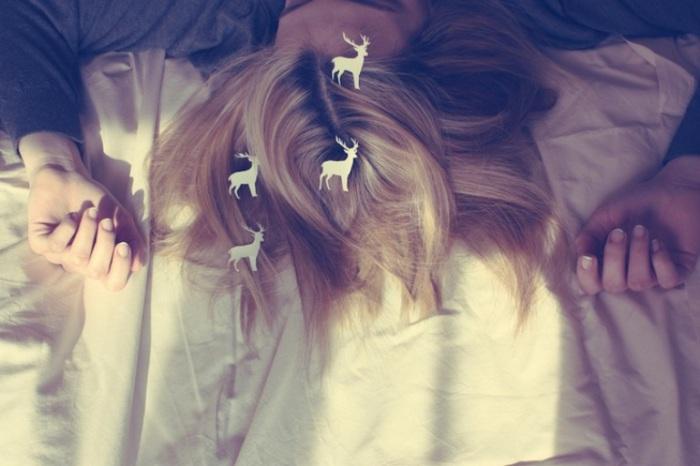 Романтические сны.