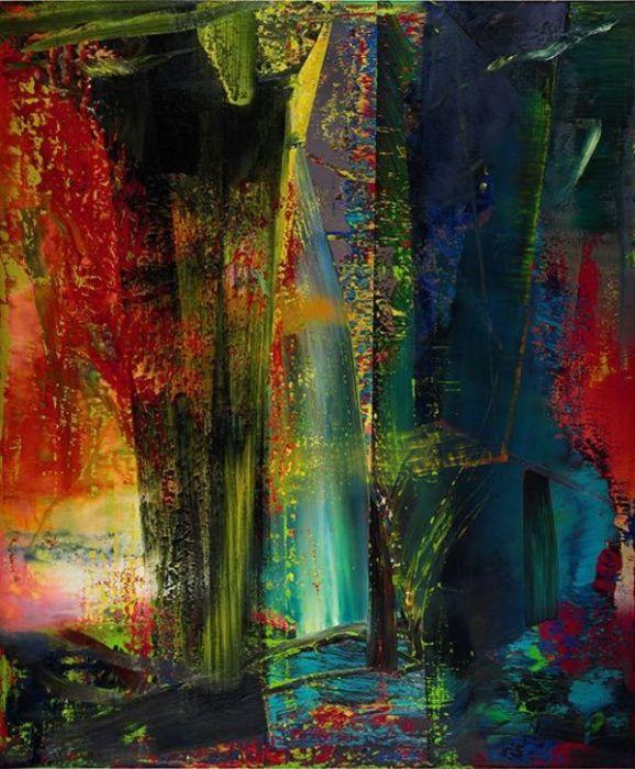 Abstraktes Bild 1986. Автор: Gerhard Richter. | Фото: pinterest.com.