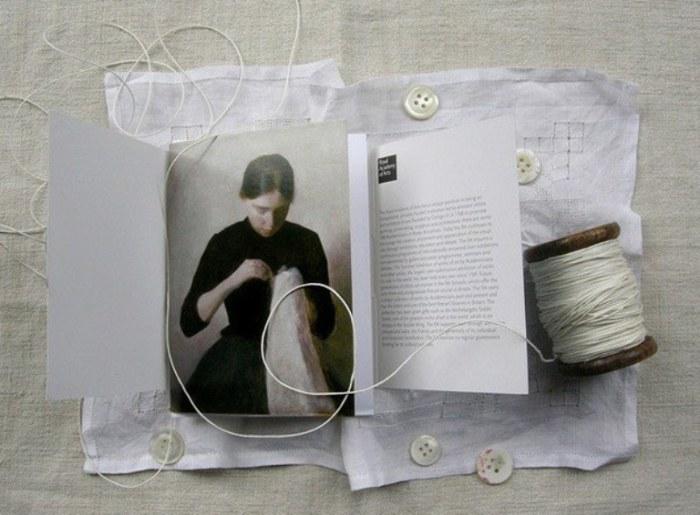 Женщина. Искусный портрет созданный шотландской художницей.