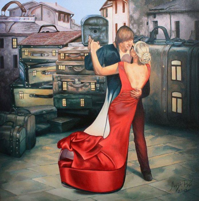 Городское танго от Лизы Рэй.
