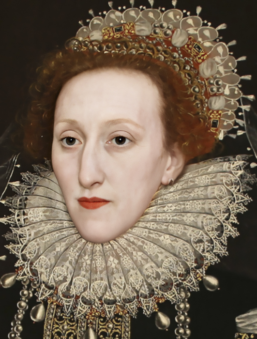 Елизавета I, Королева Англии. \ Фото: Bas Uterwijk.