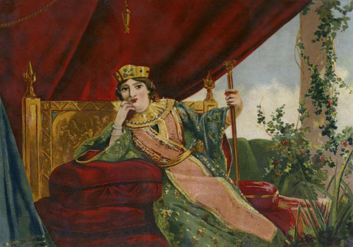 Императрица Феодора, Испания, XIX век. \ Фото: pinterest.ru.