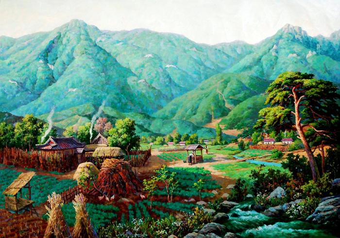 Поселение. Автор: Kang Jung Ho.