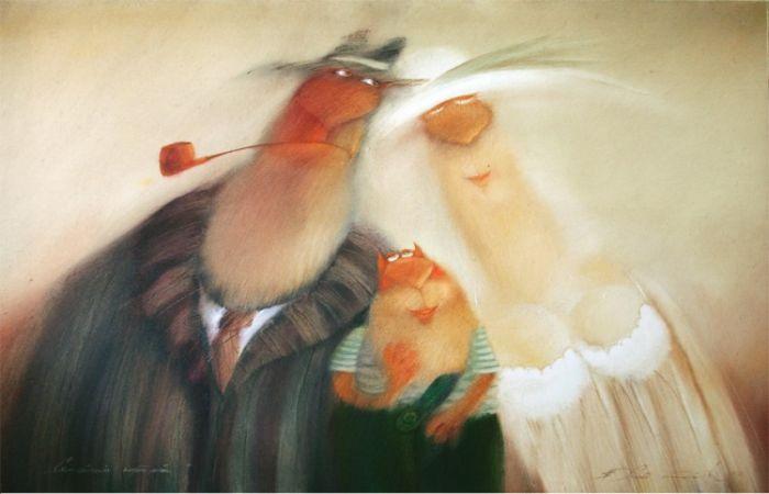 Семейный портрет. Автор: Валерий Хлебников.