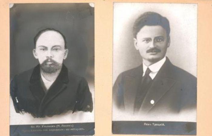 Ленин и Лев Троцкий, 1857-1918 гг.