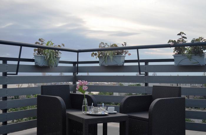 Одесса. Завтрак с видом на море. Автор фото: Elena Bobrysheva.