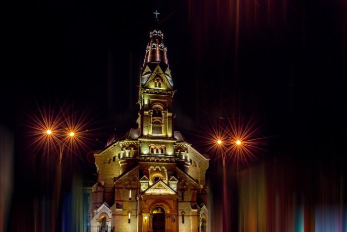 Ночь в Одессе. Автор фото: Роман Крецул.