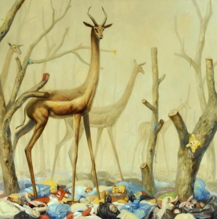 Эмоционально-атмосферные картины художника Мартина Виттфута (Martin Wittfooth).