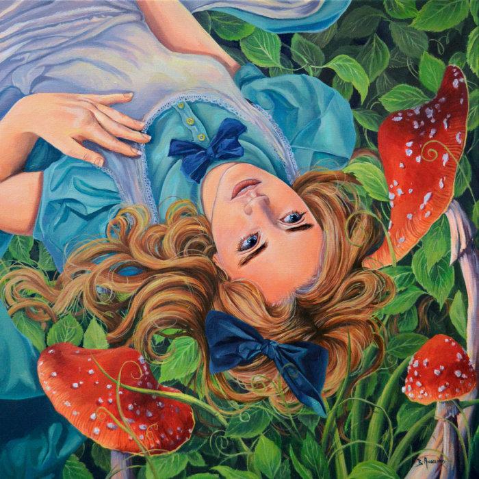 Алиса в стране чудес.   Автор: Brianna Angelakis.