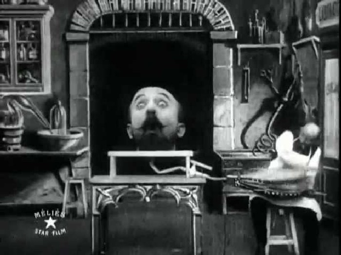 Кадр из фильма Человек с резиновой головой.