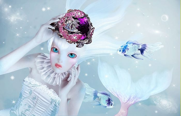 Волшебные работы Натали Шау.