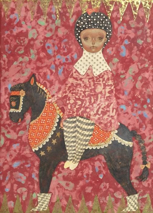 Я люблю свою лошадку. Автор: Emi Adachi.