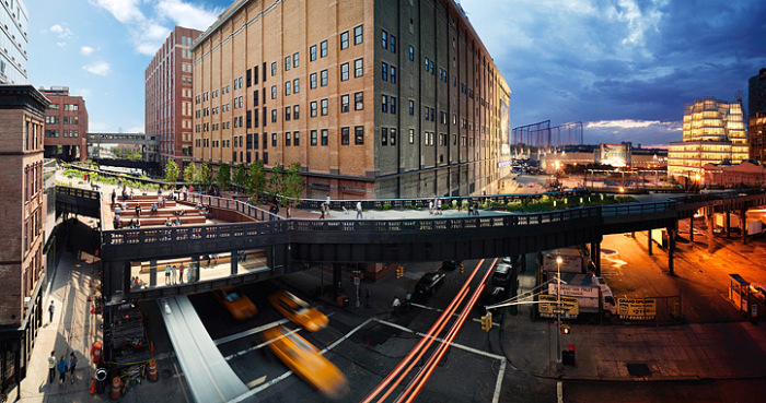 ���� Highline, ���-����. ����� �����: ������ ����� (Stephen Wilkes).