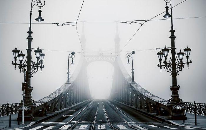 Туманная дорога. Автор: Tamas Rizsavi.