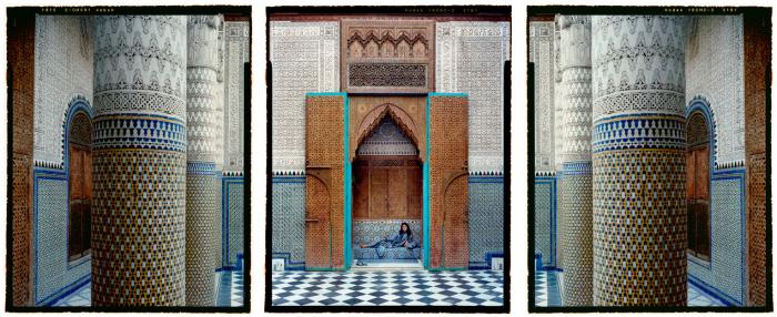 Гарем. Автор работ: марокканская художница Лала Эссаиди (Lalla Essaydi).