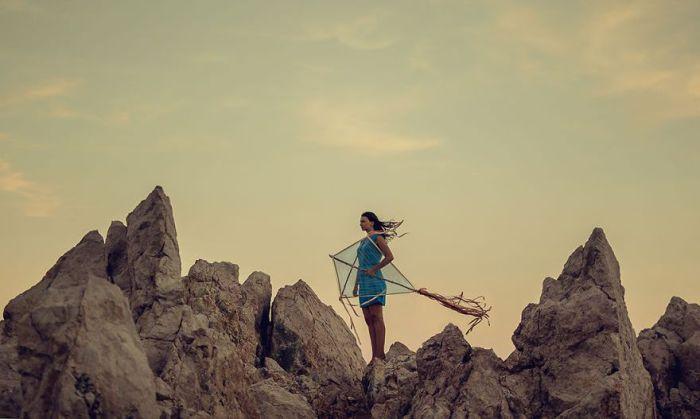 Учись летать. Автор: Михаил Захорнаки.