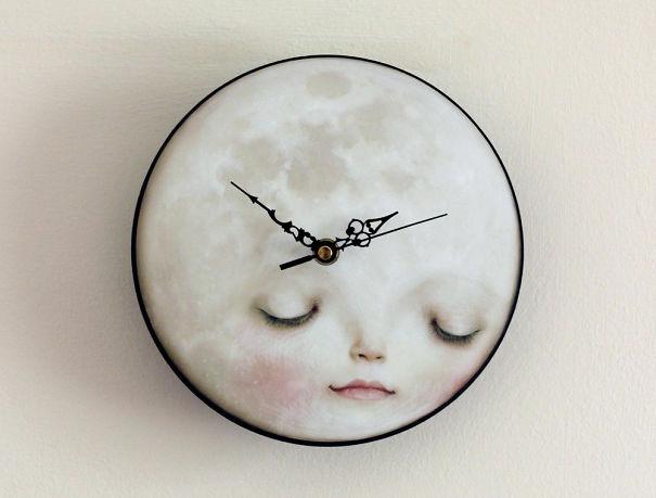 Лунные часы (Moon Clock).
