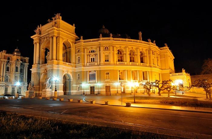 Одесский оперный театр. Автор фото: Romson.