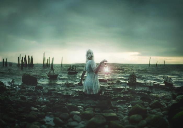 Пристань затонувших кораблей. Автор фото: Николь Киндра (Nikole Kindra).