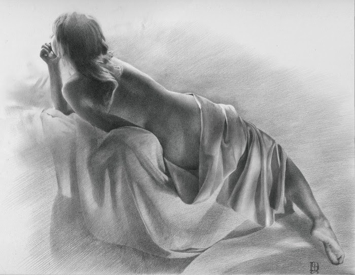 Рисованные обнаженные девушки картинки 19 фотография