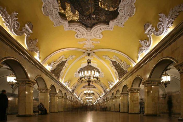 Станция метро - Парк Победы.