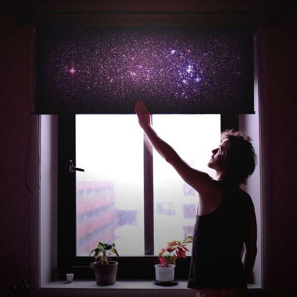 Галактические жалюзи (Galaxy Blinds).