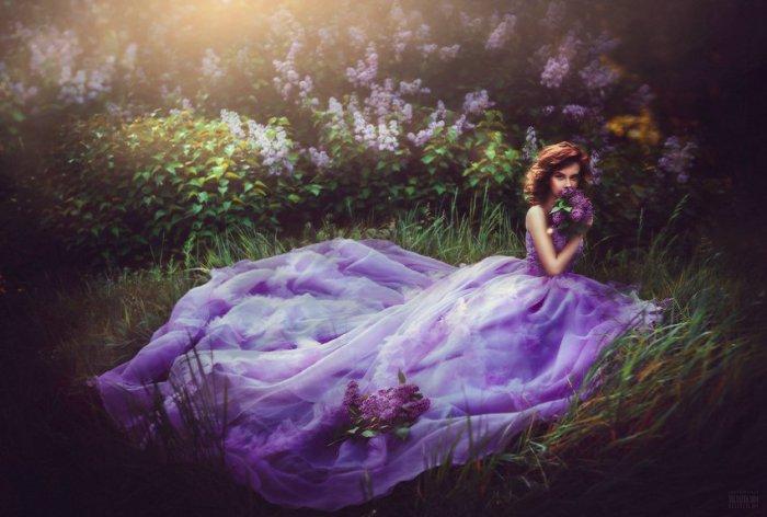 Все оттенки фиолетового. Автор фото: Беляева Светлана.