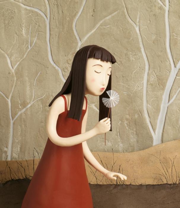 Одуванчик. Пластилиновый мир Ирмы Грюнхольц (Irma Gruenholz).