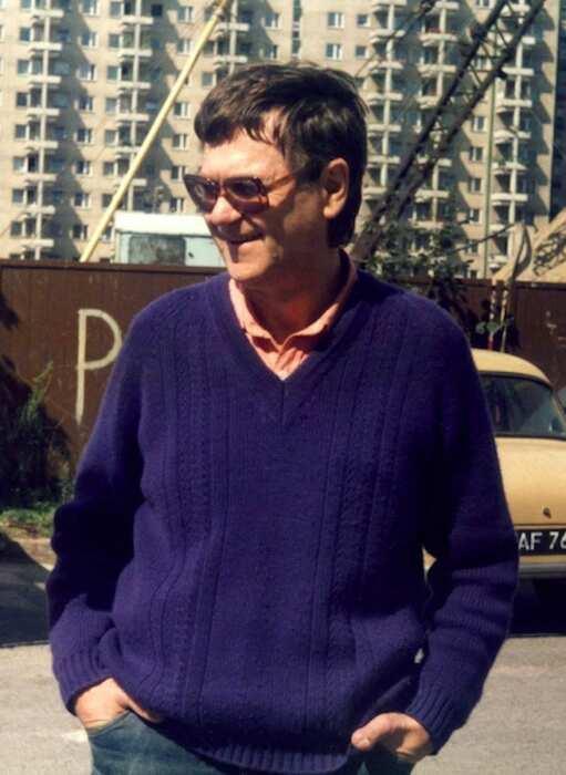 Здзислав Бексиньский, 1985 год. \ Фото:
