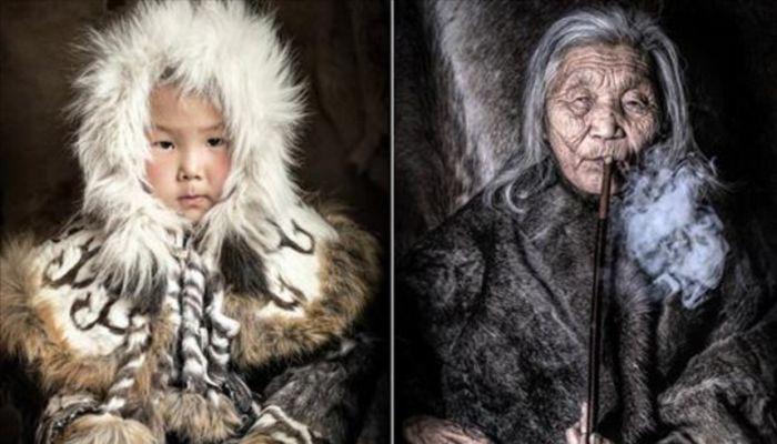 Мир в лицах: коренные народы Сибири. Автор: Александр Химушин.