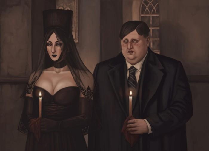 Персонажи книги  «Самый тёмный час». Автор: Александра Железнова.