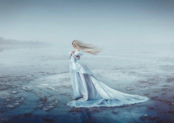 Зимняя сказка. Девушка-зима. Автор фото: Беляева Светлана.