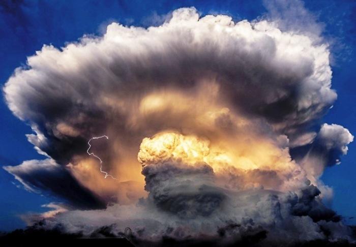 Фантастическое облако.