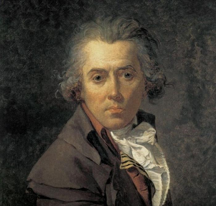 Французский живописец Жак-Луи Давид знаменит своими работами на античную и библейскую тематику.